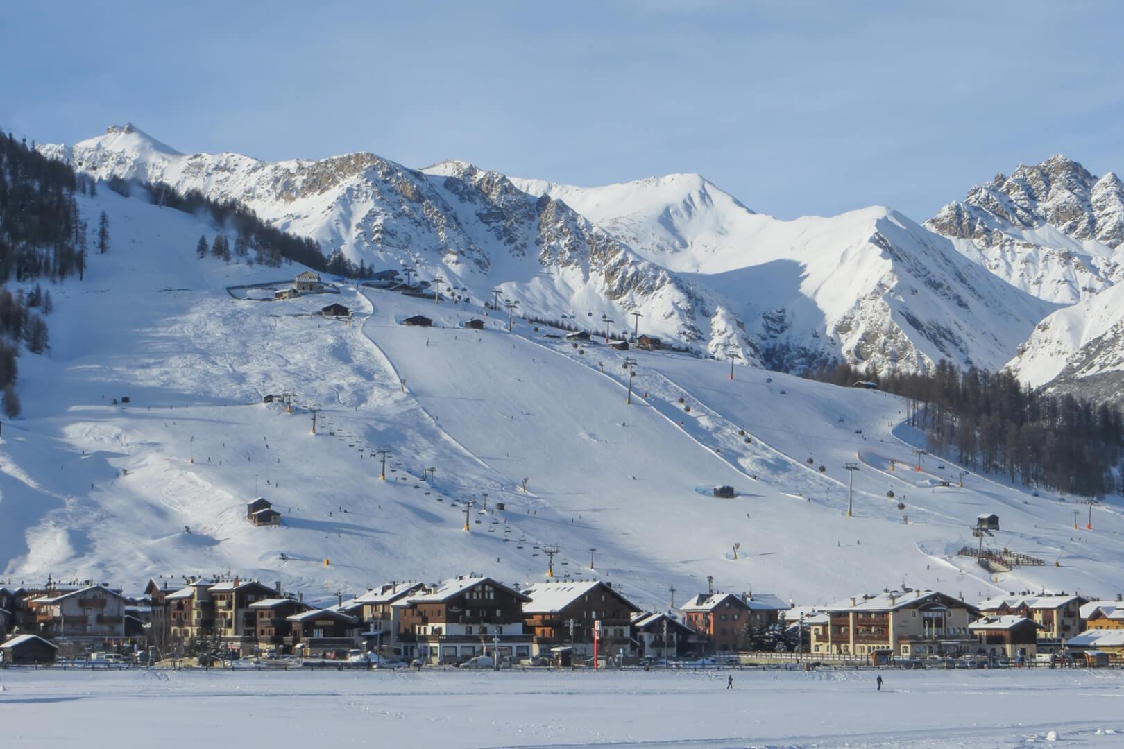 sci, snowboard e impianti risalita di livigno