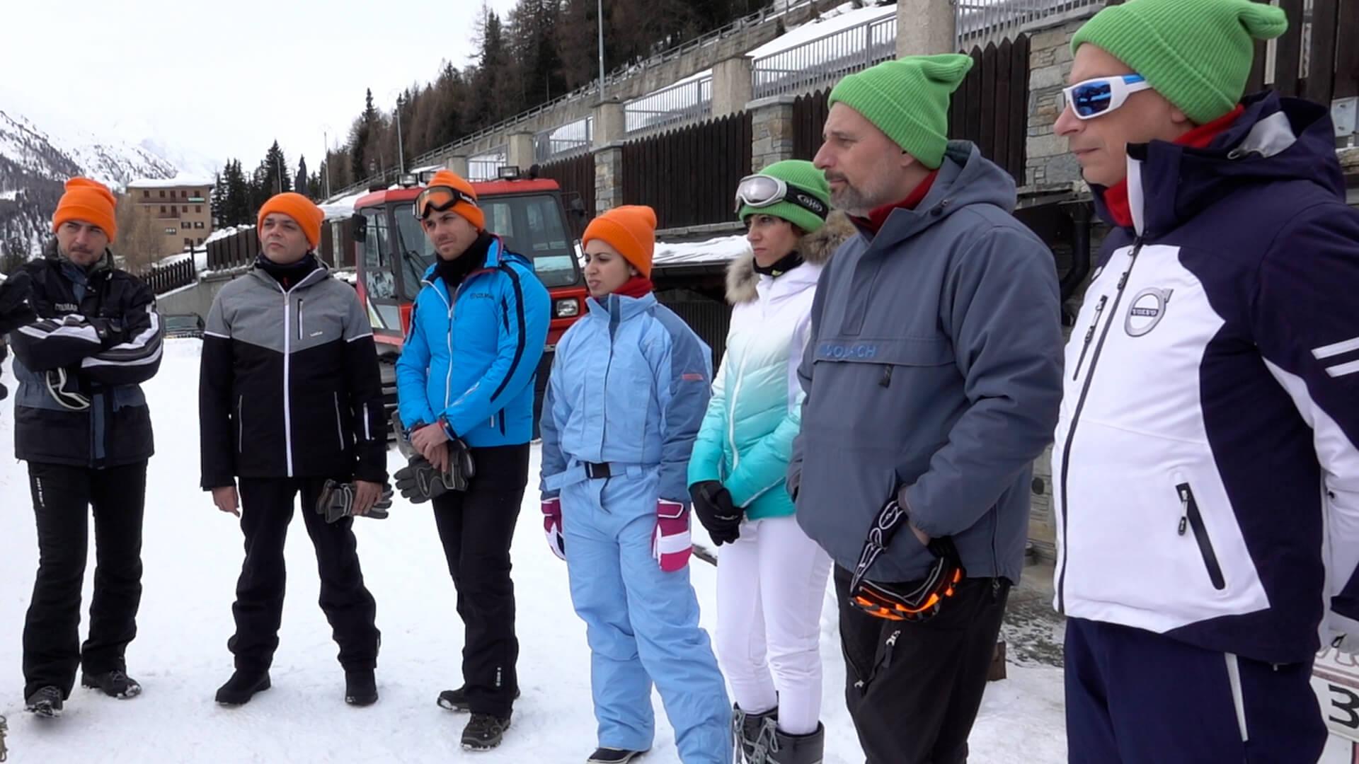 Team Building aziendale in valtellina sulle alpi