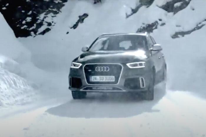 Spot Audi girato all'Husky Village